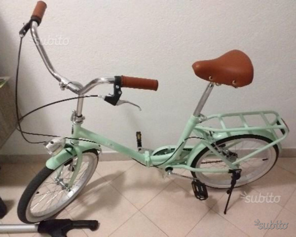 Nuovissima Bici Pieghevole Unieuro Posot Class