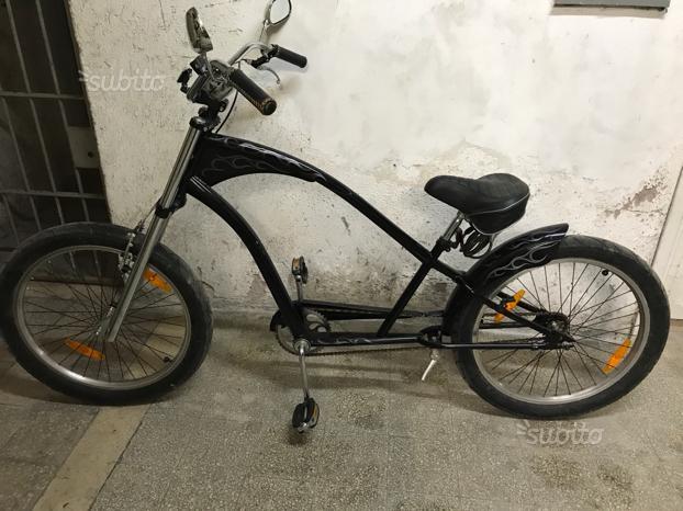 Bicicletta Chopper Artigianale Posot Class