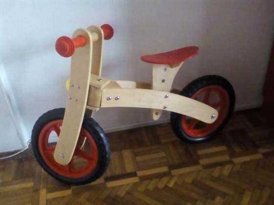 Bicicletta in legno senza pedali - Legnoland