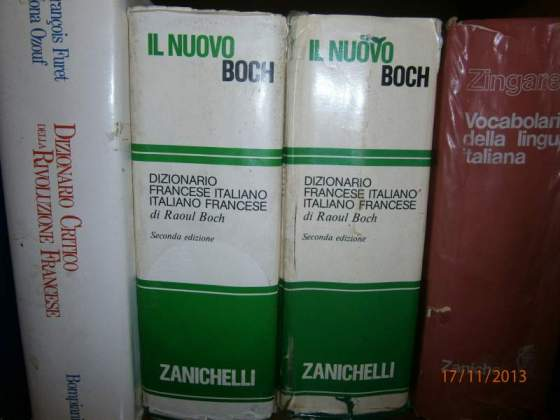 Dizionario zanichelli - italiano - francese