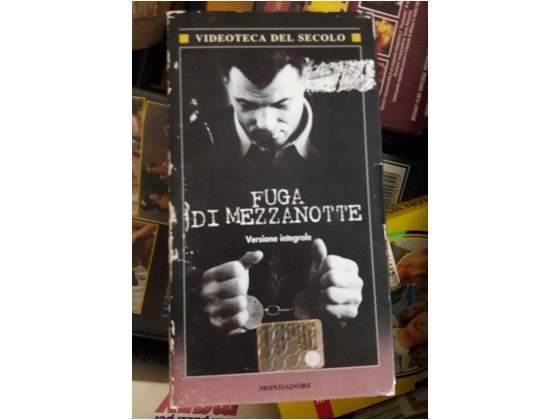 """Fuga di mezzanotte"""" Film CULT in VHS ORIGINALE"""
