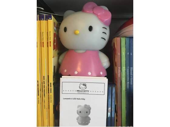 Lampada Notturna da Notte Multicolor Hello Kitty
