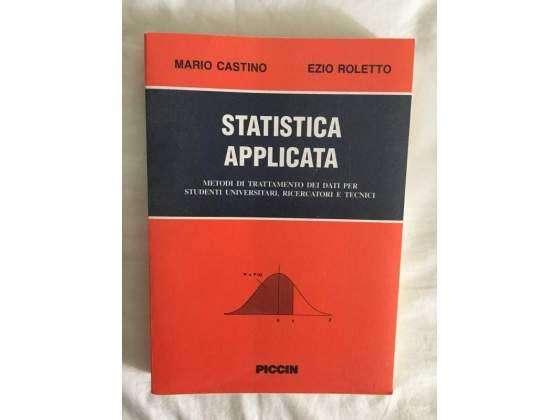 Libro Statistica per facoltà di Medicina e Chirurgia
