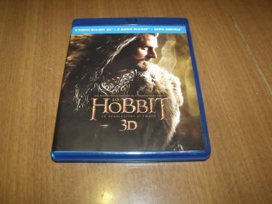Lo Hobbit La desolazione di Smaug Blu Ray 3D