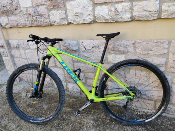 Trek superfly 9.7 carbonio bici Mountain bike mtb