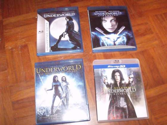 Underworld 4 Film Blu Ray 2D 3D