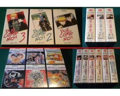 VHS Yamato Manga Dynamic cartoni giapponesi