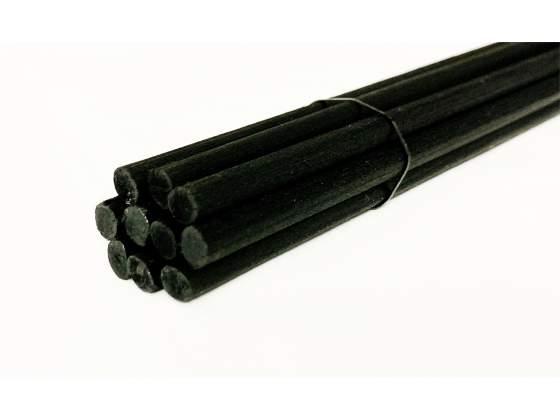 10 bastoncini 64cm neri per diffusore