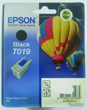 Cartuccia Toner epson T019 Black