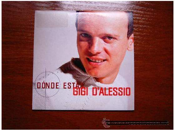 Gigi d'alessio donde estas cds in spagnolo