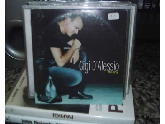 Gigi d'alessio me voy cds cartonato in spagnolo promo