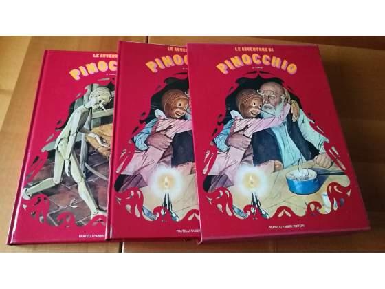 Le avventure di pinocchio - 2 volumi in cofanetto - fabbri