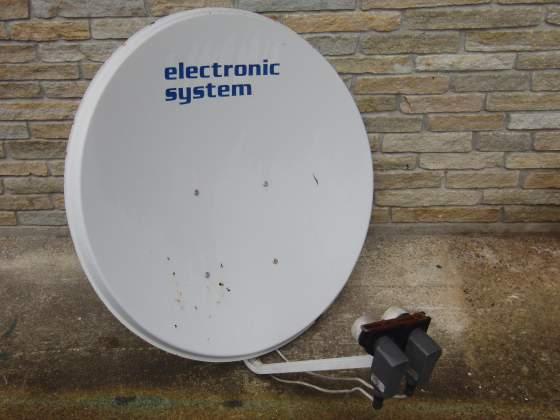 Parabola Satellite Nokia doppio LBN