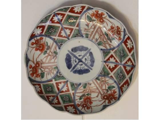 Piatto porcellana imari meiji plate porcelain buddhist