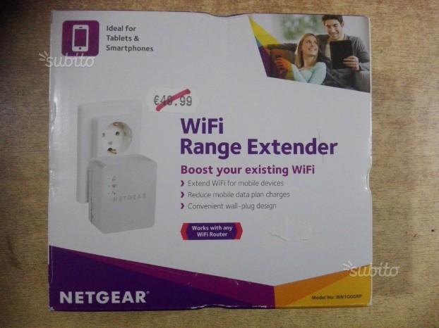 Ripetitore WiFi Booster WNRP