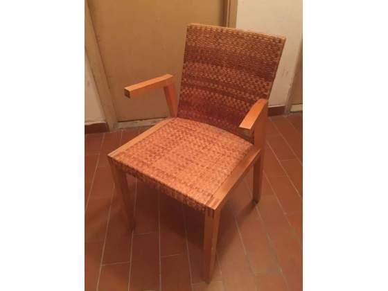 Sedie legno e paglia Ikea