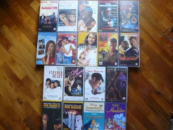 VHS Film in lingua originale - English Movie