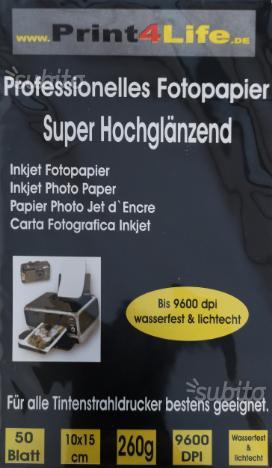 450 fogli di carta fotografica 10x15