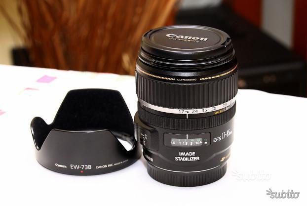 CANON EF-S mm IS USM f.4-5,6 e filtri