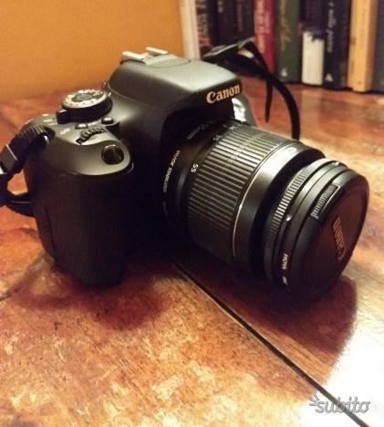 Canon 600d + obbiettivi e flash