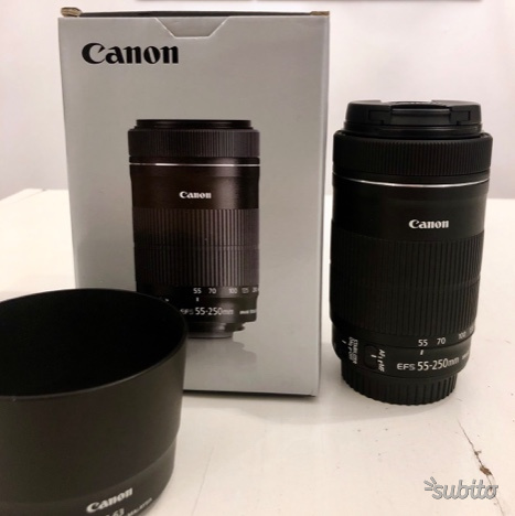 Canon EF S mm F/4-5.6 IS STM teleobiettivo