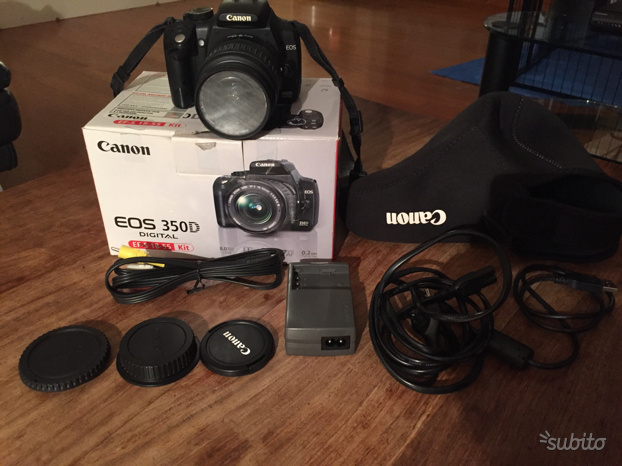 Canon EOS 350D digital (EF-S ) completo kit