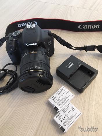 Canon EOS 600D + Obiettivo Sigma  mm f/2.8