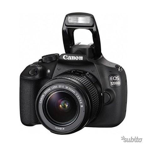 Canon EOS D Fotocamera Reflex Digitale, 18 Meg
