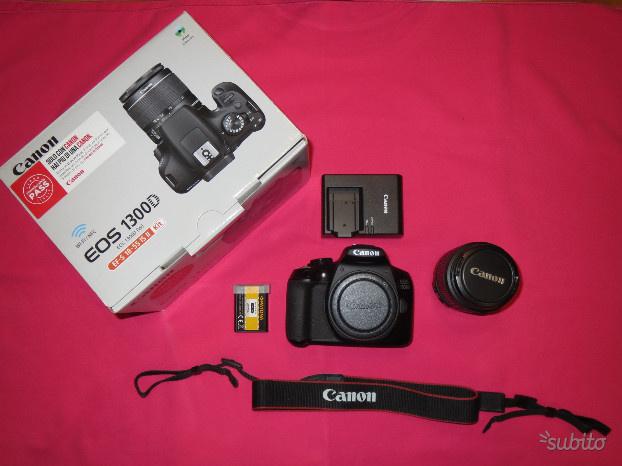 Canon EOS D + kit obiettivo