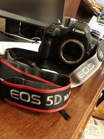 Canon Eos 5D Mark III corpo macchina