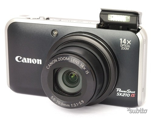 Canon PowerShot SX210 pari al nuovo