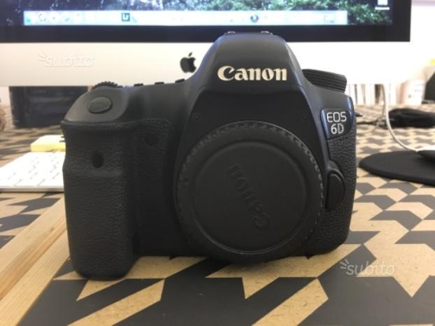 Canon eos 6D body + Battery grip