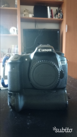 Canon reflex 60d semifprofessionale APSC
