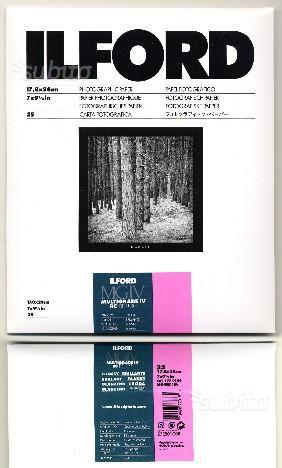 Carta fotografica bianco e nero Ilford 18x24 Lucid