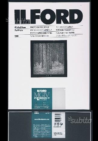 Carta fotografica bianco e nero Ilford 18xf