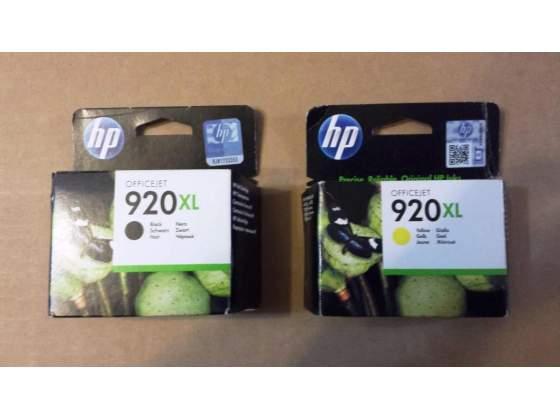 Cartucce HP 920 XL Nero + Giallo OfficeJet