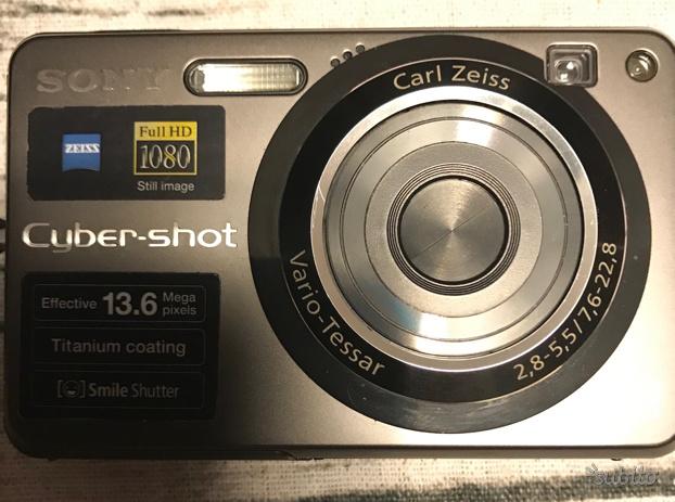 Fotocamera digitale sony cyber shot DSC W300