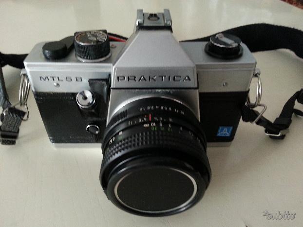 Fotocamera reflex analogica