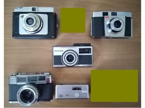 Lotto 5 macchine fotografiche molto belle, alcune da