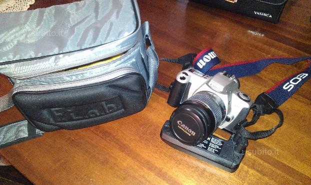 Macchina Fotografica Reflex Canon EOS300 accessori