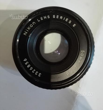 Obbiettivo Nikon lens series E
