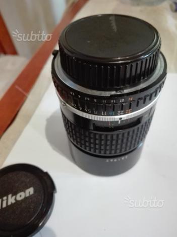 Obbiettivo Nikon lens series e 135mm