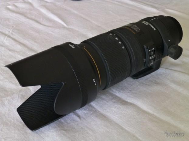 Obiettivo SIGMA mm f/2.8 NIKON tele