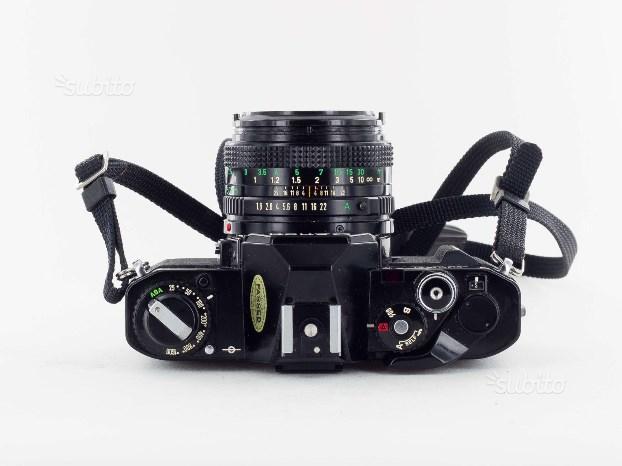 Refle Kodak Instamatic e Canon AV1