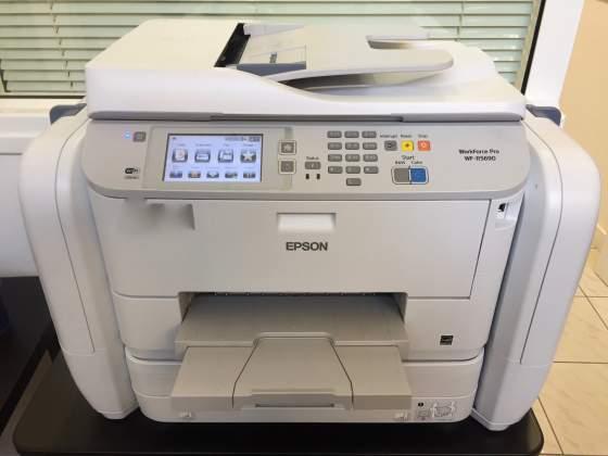 Stampante multif. professionale EPSON RIPS WF-R perfetta