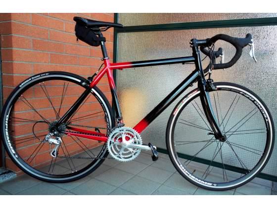Bici da Corsa Campagnolo Veloce 9v Tripla Tg.52 (M) Rosso -