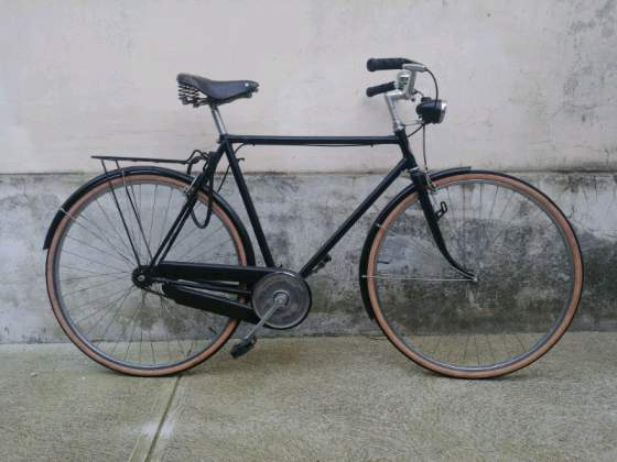 Bici vintage Atala bici citta. Sella in pelle.
