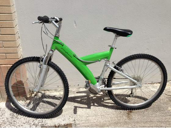Bicicletta MTB Pininfarina verde