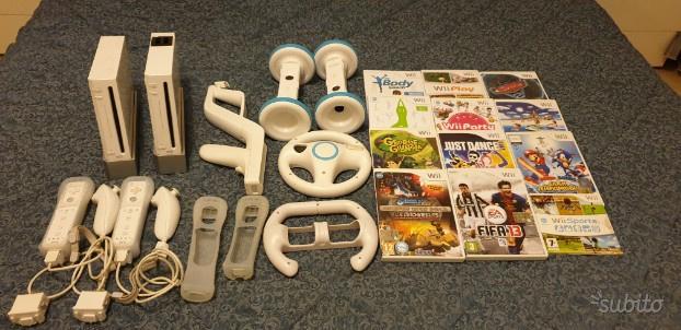 Console Wii con accessori e giochi inclusi