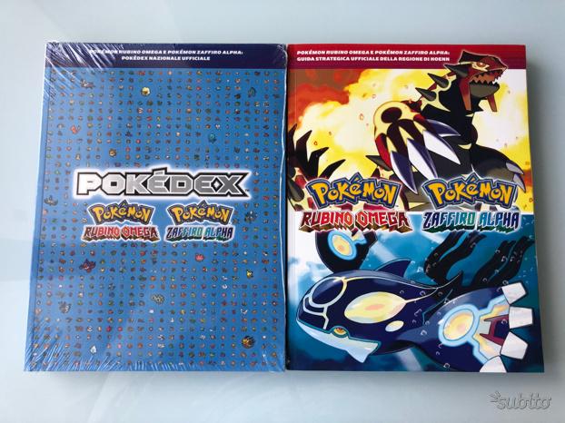 Guida strategica pokedex Pokemon zaffiro rubino
